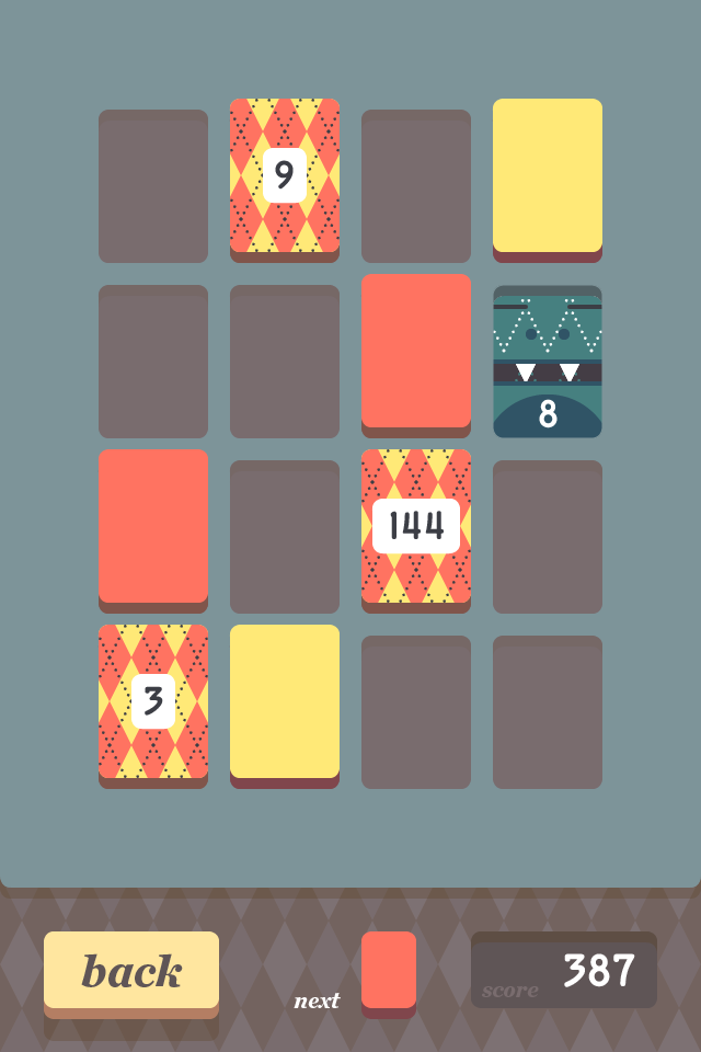 THREES - A tiny puzzle that grows on you