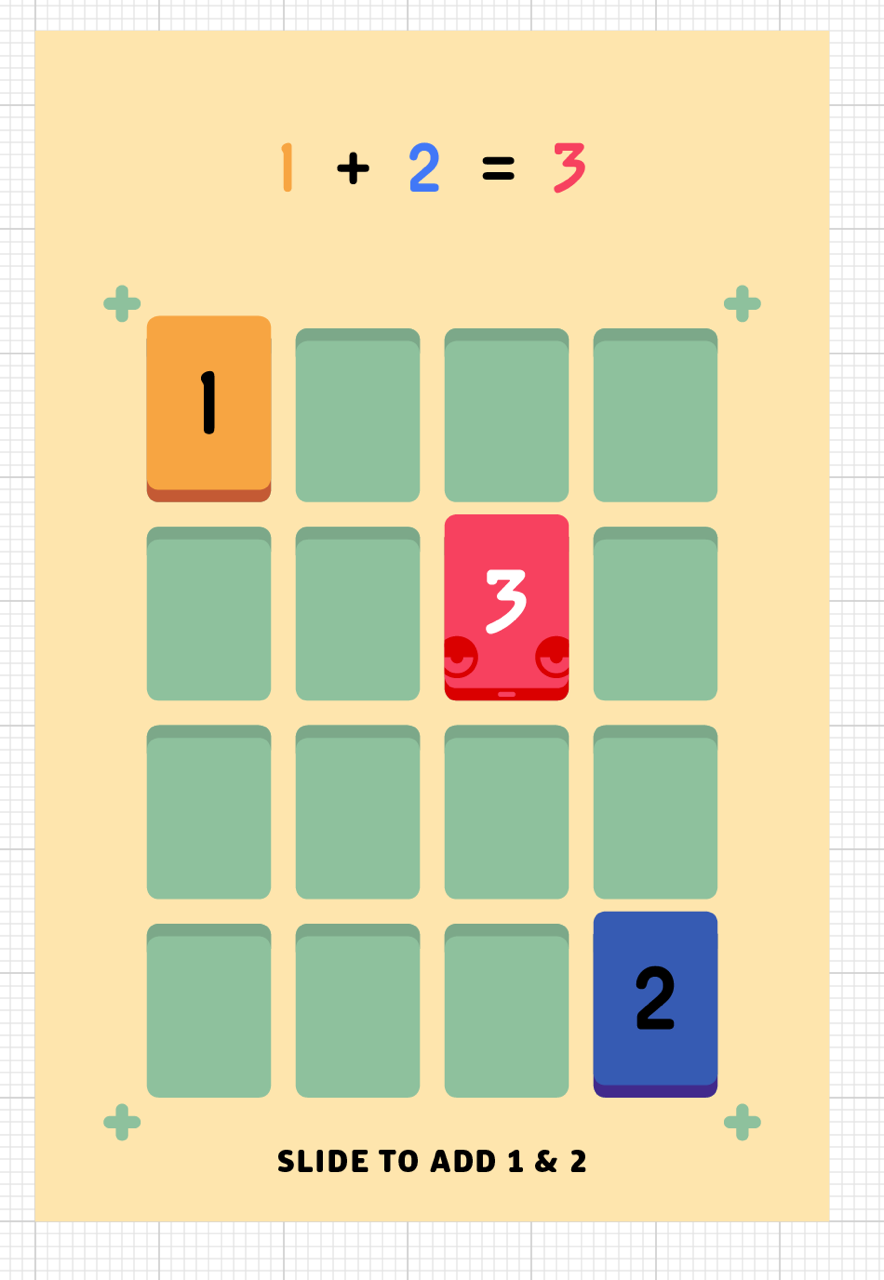 THREES - A tiny puzzle that grows on you.